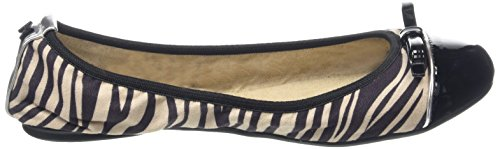 Butterfly Twists Cara - Zapatillas de Ballet Mujer Black (Zebra)