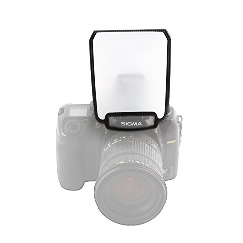 Movo Photo SB4 Universal On-Camera Pop-Up Flash Diffuser for DSLR & Mirrorless Cameras (White Screen) from Movo