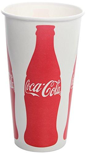 Cola Paper Coca - Karat C-KCP32(Coke) 32 oz Paper Cold Cup,