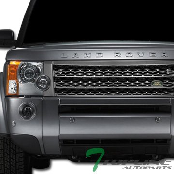 Amazon Gray Honeycomb Mesh Front Hood Grill Grille Abs Land