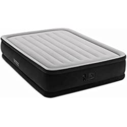 "Intex Dura-Beam Series Elevated Comfort Airbed, Bed Height 16"", Queen"
