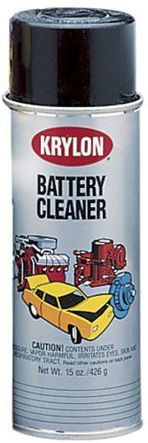 Krylon (1336-6 PK) Battery Cleaner - 15 oz. Aerosol, (Case of 6) by Krylon