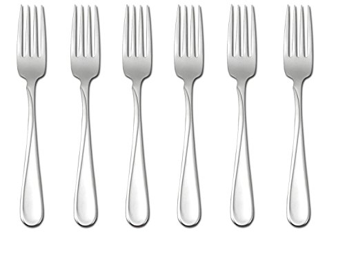 Oneida Flight Dinner Forks, Set of 6