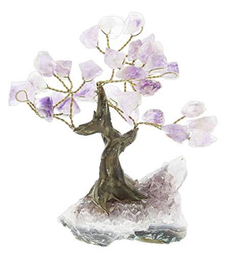Stonecraft Collections Geode Gem Tree Figurine 5