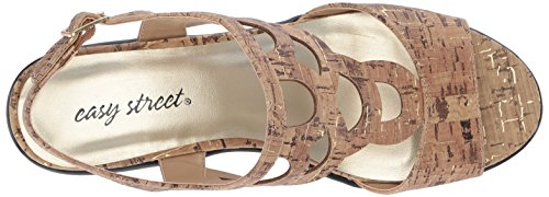 Easy Street Outshine Para Mujer Cork Gold Fleck