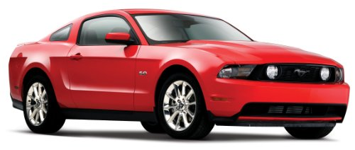 (Maisto 1:24 Scale 2011 Ford Mustang GT Diecast Vehicle (Colors May Vary))