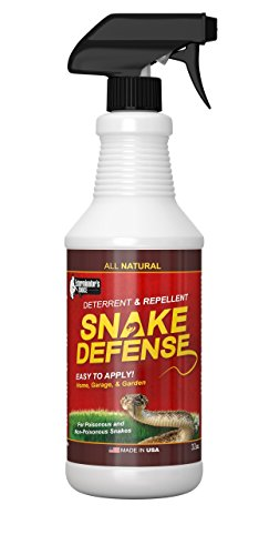 Exterminators Choice Snake Defense Natural Snake Repellent - Effective and Safe Spray 32oz| for All Types of Snakes|......