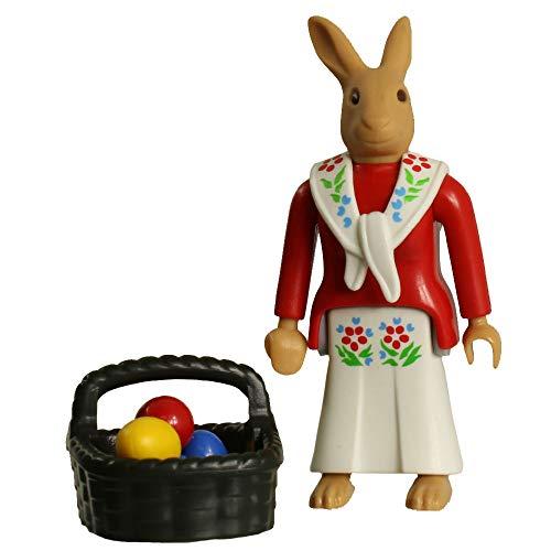 (Playmobil Pink Girl Fi?ures 5597 Series 8 Easter Bunny Figure)