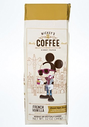 Disney Parks Mickey's Really Swell 12oz Ground Coffee (French -