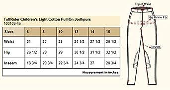 TuffRider Kids Light Cotton Pull-On Jods