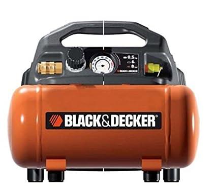 Black+Decker 1797 - Compresor con tanque de 6 L, sin aceite