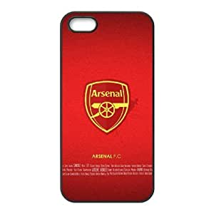 High Quality Specially Designed Skin cover Case Sports arsenal 4 iPhone 4 4s Cell Phone Case Black
