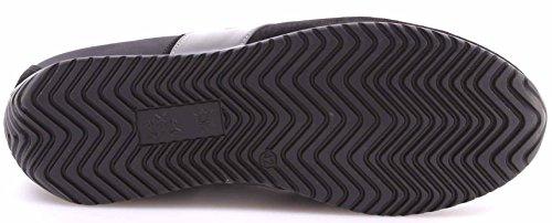 La Martina Scarpe Sneakers Uomo Maserati by L3095266 Camoscio Nero Bomber Nero