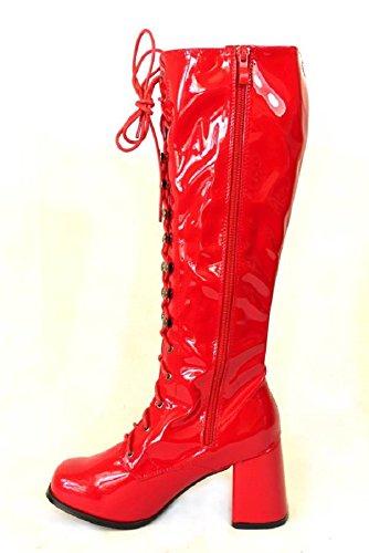 Go 38 41 e taglia 36 60 anni da Stivali 39 nbsp;diversi Patent stile 11828 per Go donna modelli Red 70 retro 35 37 party 40 FqHwx4Xa