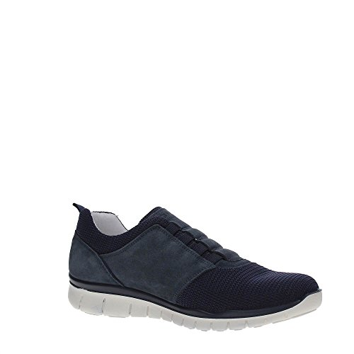Sneakers Slip On Blau