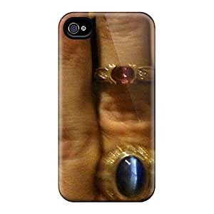 Awesome Design The Purple Sapphire For My Queens Finger Hard Case Cover For Iphone 4/4s by runtopwell