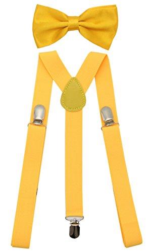 JAIFEI Adjustable Strong Suspender Wedding