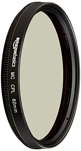 AmazonBasics Zirkularer Polarisationsfilter - 62mm