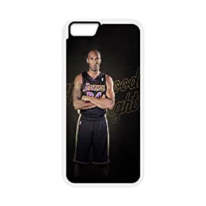 Kobe Bryant iPhone 6 Plus 5.5 Inch Cell Phone Case White Nxjij