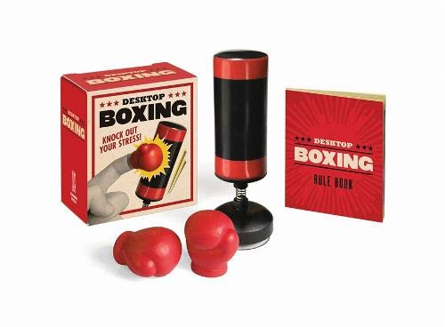 Desktop Boxing: Knock Out Your Stress! (RP Minis) (Ideas Glass Bases Table)