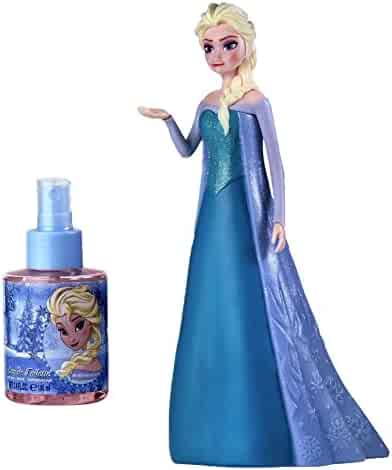 Disney Frozen 3D Figure Elsa for Kids Eau de Toilette Spray, 3.4 Ounce
