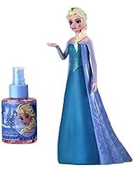 Disney Frozen 3D Figure Elsa for Kids Eau de Toilette Spray, 3.4 Ounce