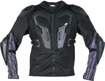 EVS G6 Lite Adult Ballistic Jersey Off-Road/Dirt Bike Motorcycle Body Armor - Black / - Ballistic Jersey Motorcycle