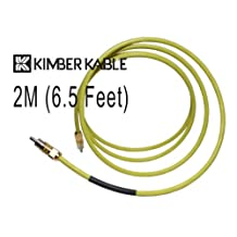 Kimber Kable DV-30 Digital / Video Cable with Ultraplate RCA Type Connectors (2 Metre)