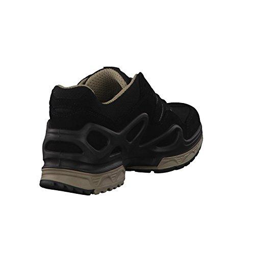 Ws Zapatos champagner De Mujer Senderismo Gtx Schwarz Negro Hautes Lowa Gorgon t4qEaqWw