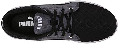 Zapatillas Puma Para Hombre Carson Runner Quilt Running Black / Periscopio / Blanco