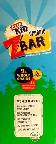 Clif Kid Z Bar Iced Oatmeal Cookie, 12 Count