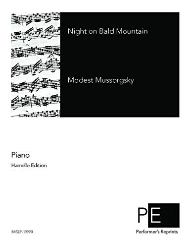 Night on Bald Mountain - For Piano Solo (Night On Bald Mountain Piano Sheet Music)