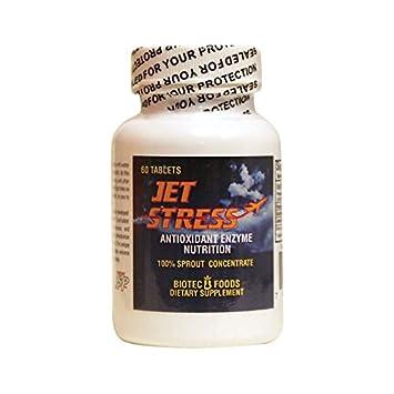 Amazon com: Biotec Foods Jet Stress -- 60 Tablets: Health