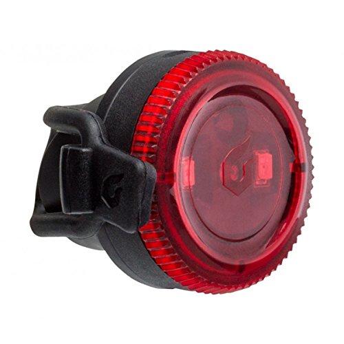 [해외] Blackburn(블랙 BAAN) Blackburn(블랙 BAAN) 자전거 리어 라이트 싸이클 LED 전지 방수 방진 IP-65 실리콘 밴드 4루멘 CLICK [클릭 리어 블랙] 7085175
