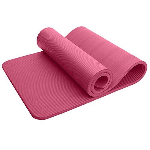 YJDZXM GRJH® Tapis de yoga, Thicken Dance Mat Extended Mouvement antidérapant durable Tapis de fitness Confort, protection de l'environnement