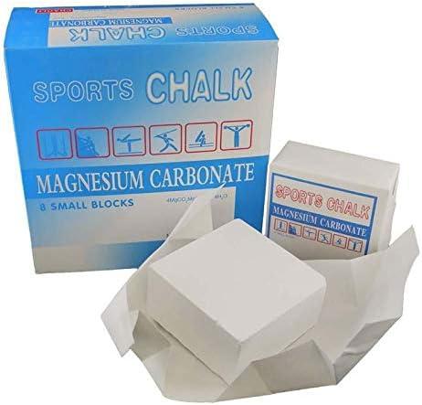 jusenda 8 Pcs//lot Weight Lifting Gym Sports Gymnastic Chalk Magnesium Sports Climbing Magnesium Powders Block Barbell Fitness Training