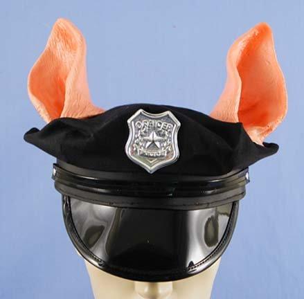 Pig Cop Costume (Police Piggy Cop Hat)