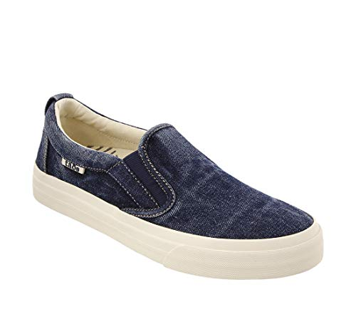 - Taos Footwear Women's Rubber Soul Blue Denim Slip On 7 M US