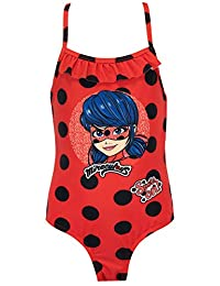 Miraculous Girls' Ladybug Swimsuit