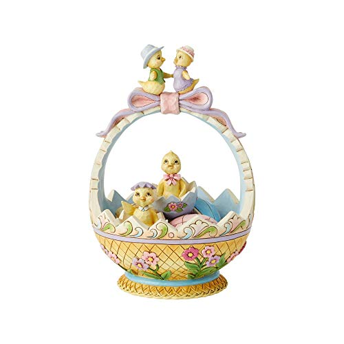 Enesco Jim Shore Heartwood Creek Easter Basket 14Th Annual