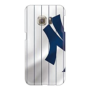 Protector Hard Phone Case For Samsung Galaxy S6 (lyI2029eDpM) Provide Private Custom Attractive New York Yankees Series