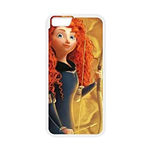 Brave iPhone 6 Plus 5.5 Inch Cell Phone Case WhiteP4836472