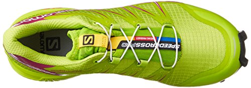 Salomon Womens Speedcross Pro Scarpe Da Corsa Verde