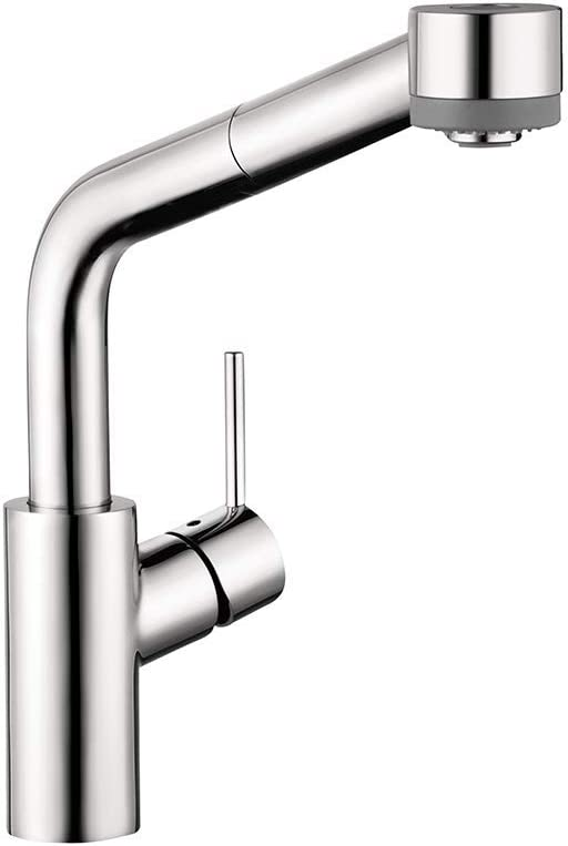Hansgrohe Talis S Premium 1 Handle 13 Inch Tall Kitchen Faucet With Pull Down Sprayer With Quickclean In Chrome 04247000 Touch On Kitchen Sink Faucets Amazon Com