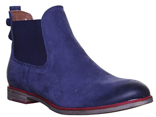 Bleu Justin Boots 5800 Marine Reece Chelsea Femme qfSrvxXfRw