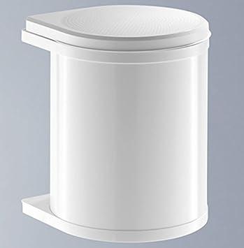 Hailo Mono 15 Liter Abfalleimer Küche Abfallsammler Bad weiss ...