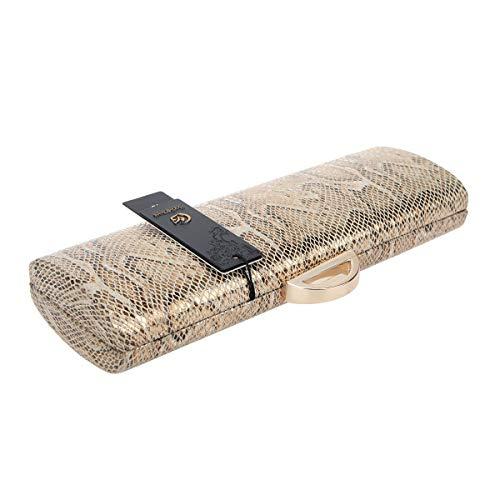 Soirée Femmes Serpent Pochette Gold Cuir En D'embrayage Bonjanvye Pochettes ptxUqdBUw