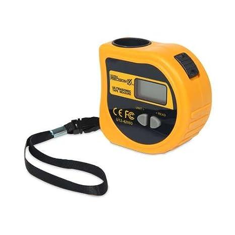 Ultra Precision X Ultrasonic Electronic Tape Measure - 1.3-59FT, Digital LCD Display - - Amazon.com