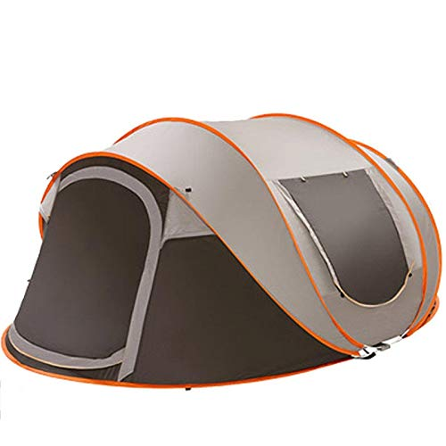 Nrthtri smt 5-8 People Sunshade Canopy Large Automatic Camping Tent Windproof Waterproof Pop Up Family Sunshade Canopy…