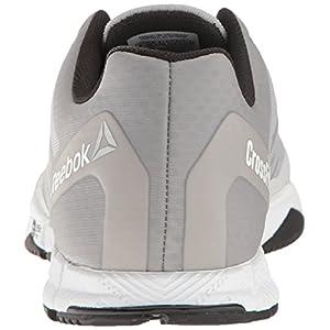 Reebok Women's Crossfit Speed TR Cross-Trainer Shoe,Steel/White/Black/Silver,10 M US